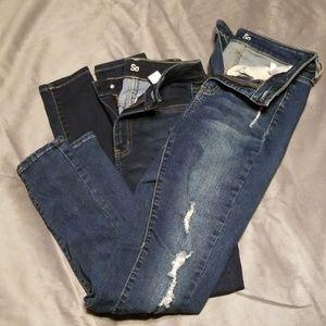 Juniors SO / Kohl's brand Jean's size 3 & size 1